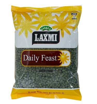Laxmi Daily Feast Green Chana 1 KG