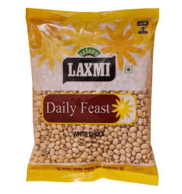 Laxmi Daily Feast White Chola 500 GM