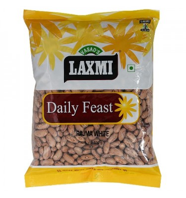 Laxmi Daily Feast Rajma White Chitra 500 GM