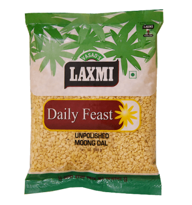 Laxmi Daily Feast Unpolished Moong Dal 500 GM