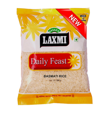 Laxmi Daily Feast Basmati Rice 500 GM