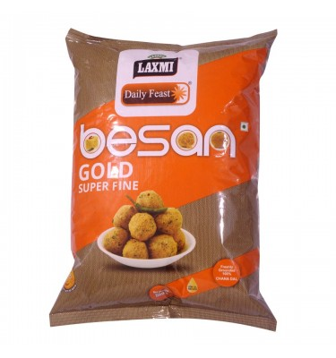 Laxmi Daily Feast Besan (GramFlour) - 500 GM